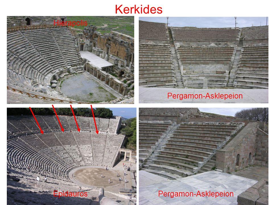 Kerkides Hierapolis Pergamon-Asklepeion Epidauros Pergamon-Asklepeion