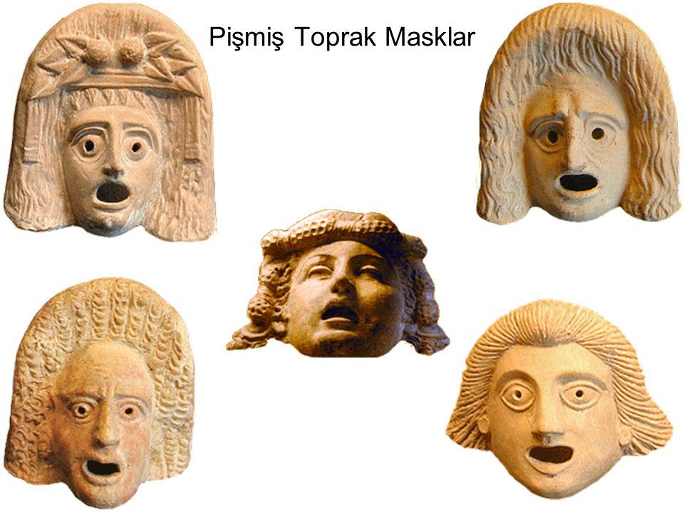 Pişmiş Toprak Masklar