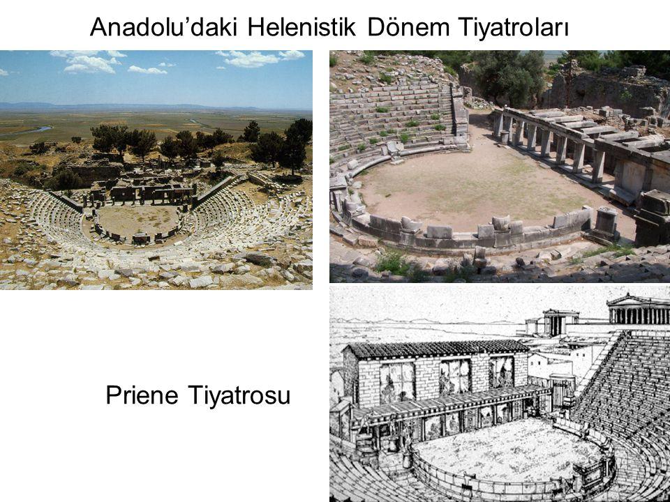 Anadolu'daki Helenistik Dönem Tiyatroları