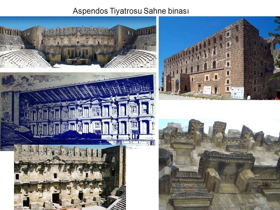 Aspendos Tiyatrosu Sahne binası