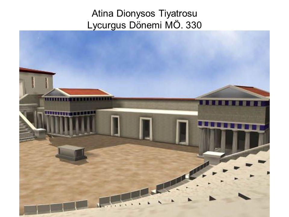 Atina Dionysos Tiyatrosu Lycurgus Dönemi MÖ. 330