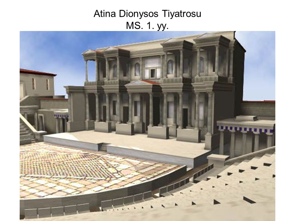Atina Dionysos Tiyatrosu MS. 1. yy.
