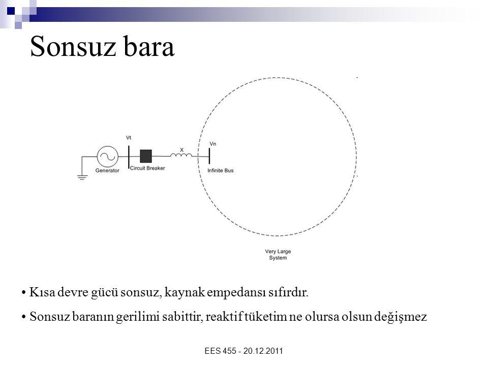 Sonsuz bara Kısa devre gücü sonsuz, kaynak empedansı sıfırdır.