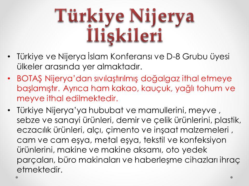 Türkiye Nijerya İlişkileri