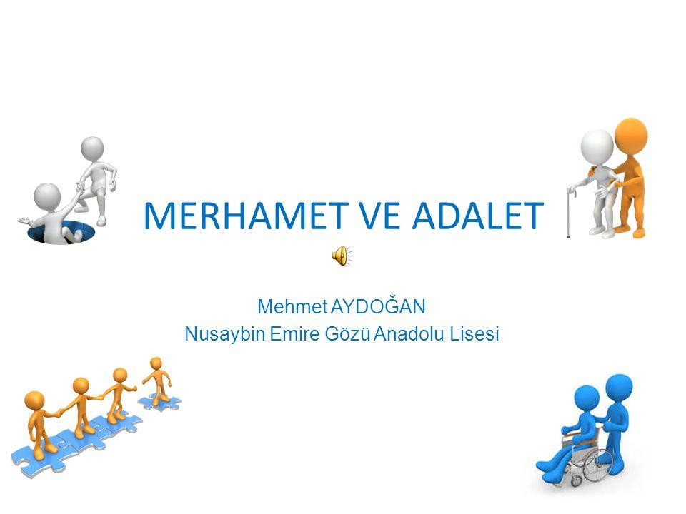 Mehmet AYDOĞAN Nusaybin Emire Gözü Anadolu Lisesi