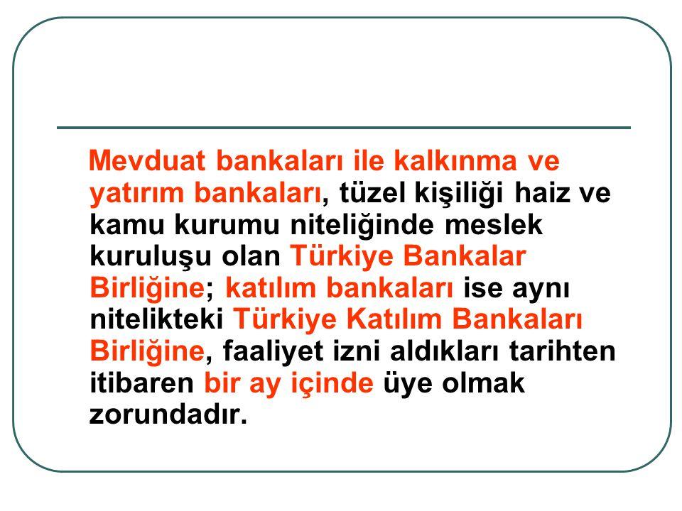 KATILIM BANKALARI HESAP TÜRLERİ