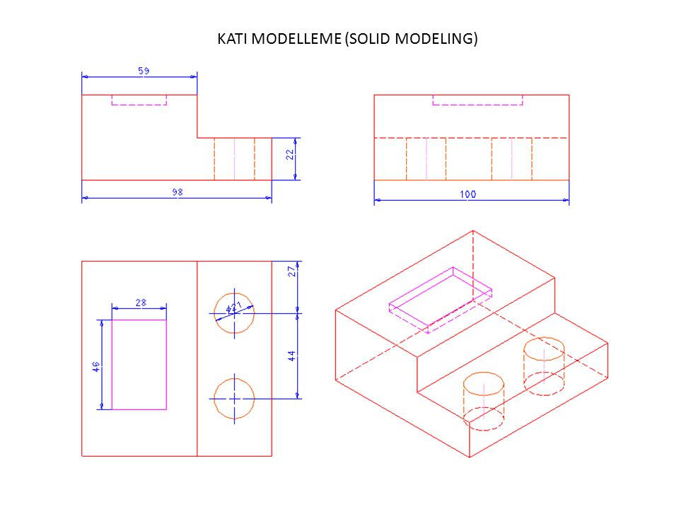 KATI MODELLEME (SOLID MODELING)
