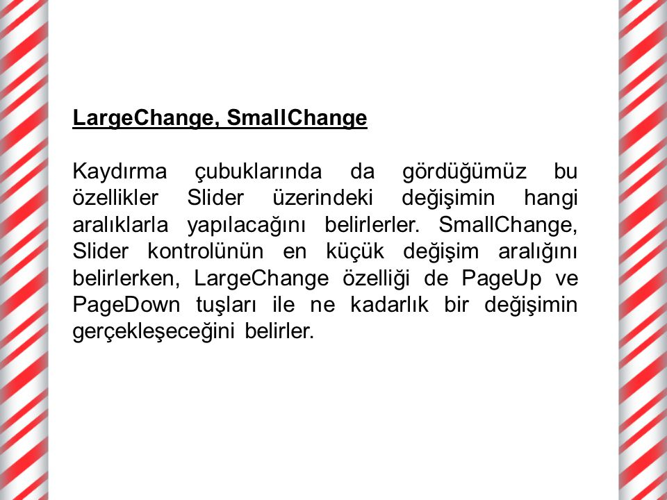 LargeChange, SmallChange