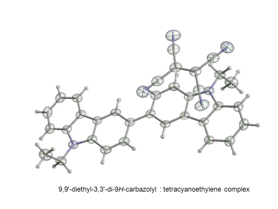 9,9 -diethyl-3,3 -di-9H-carbazolyl : tetracyanoethylene complex