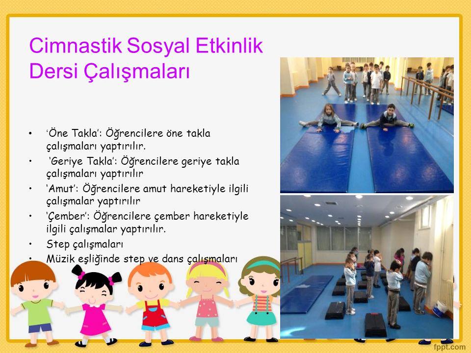 Cimnastik Sosyal Etkinlik Dersi Çalışmaları