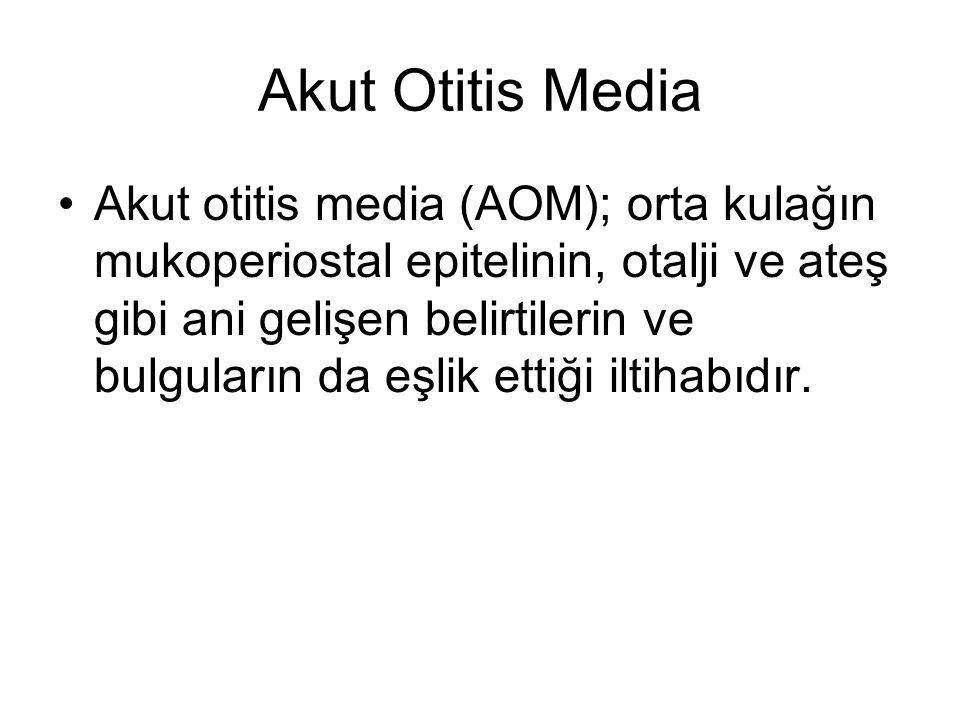 Akut Otitis Media