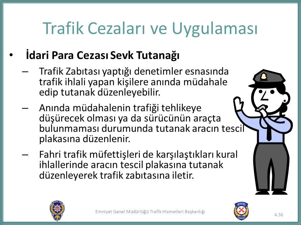 Trafik Cezaları ve Uygulaması