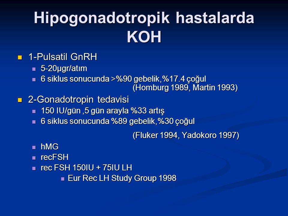 Hipogonadotropik hastalarda KOH