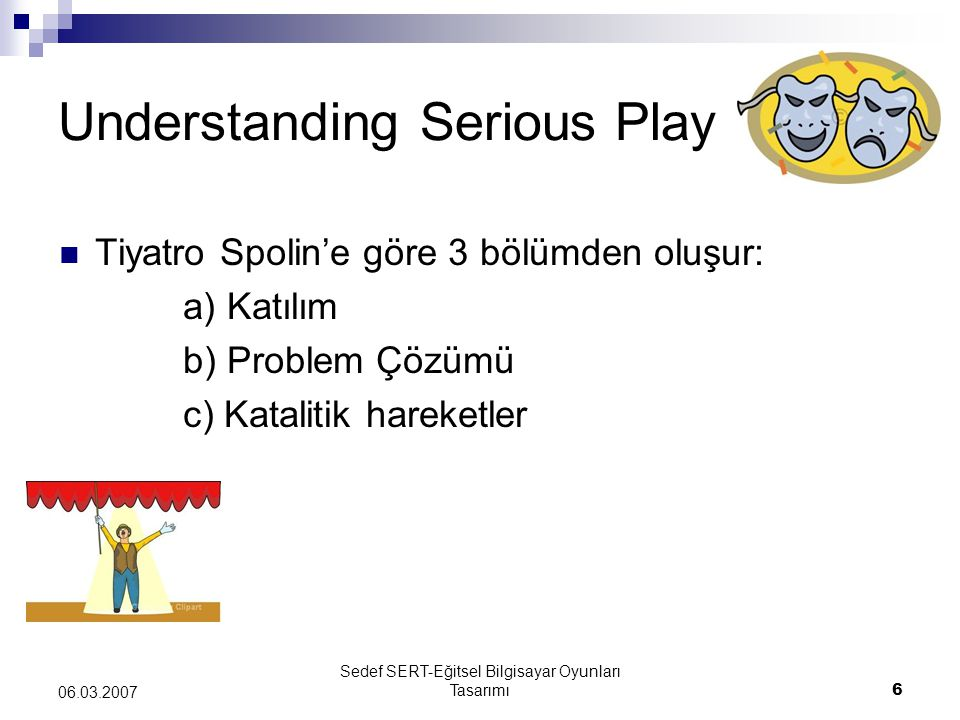 Understanding Serious Play