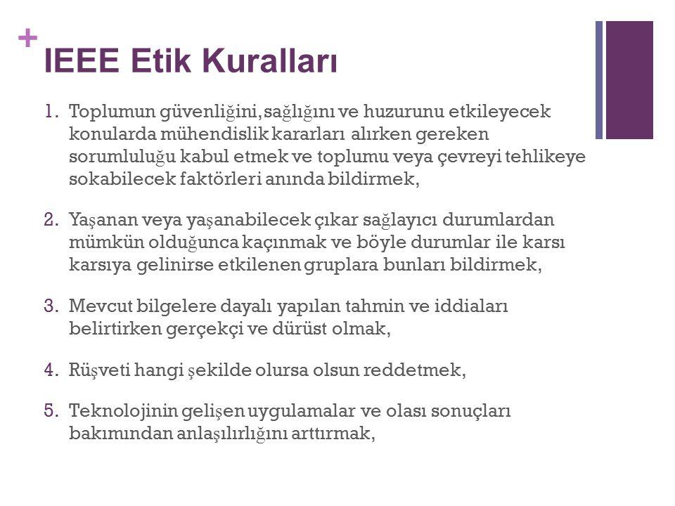 IEEE Etik Kuralları