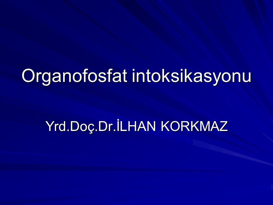 Organofosfat intoksikasyonu
