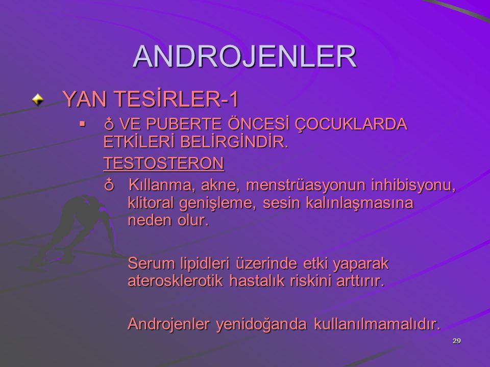 ANDROJENLER YAN TESİRLER-1