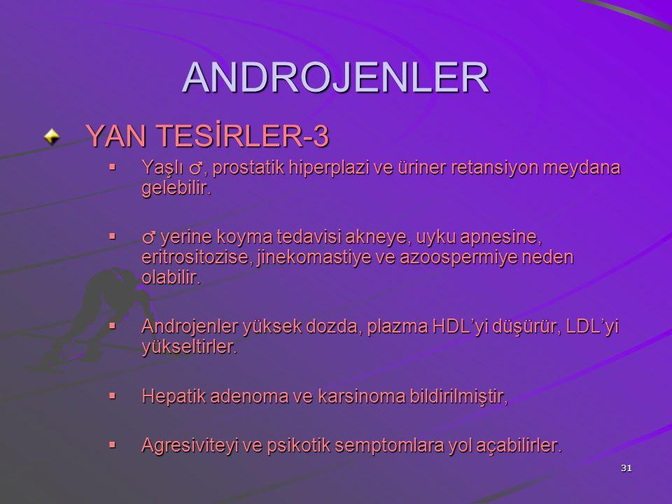 ANDROJENLER YAN TESİRLER-3