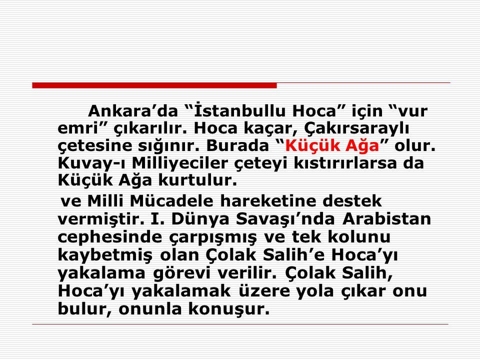 Ankara'da İstanbullu Hoca için vur emri çıkarılır