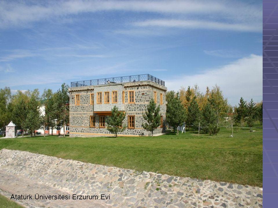 Atatürk Üniversitesi Erzurum Evi