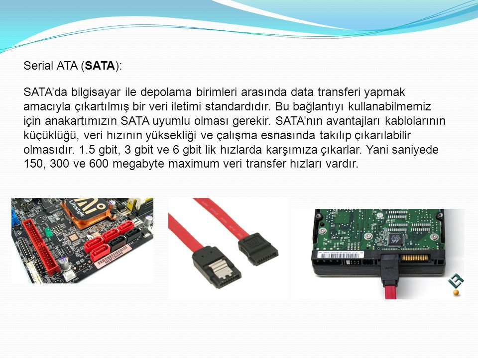 Serial ATA (SATA):