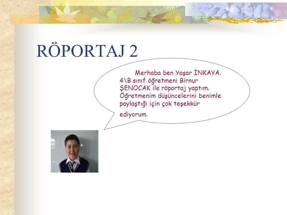 RÖPORTAJ 2