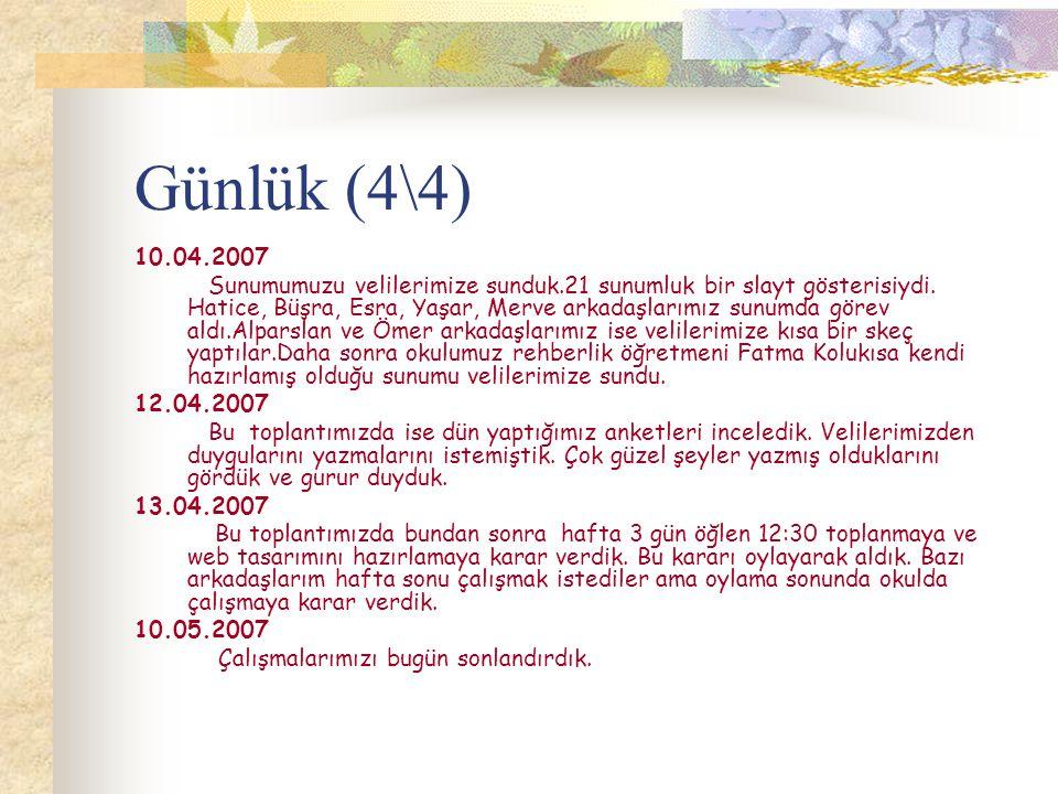 Günlük (4\4) 10.04.2007.