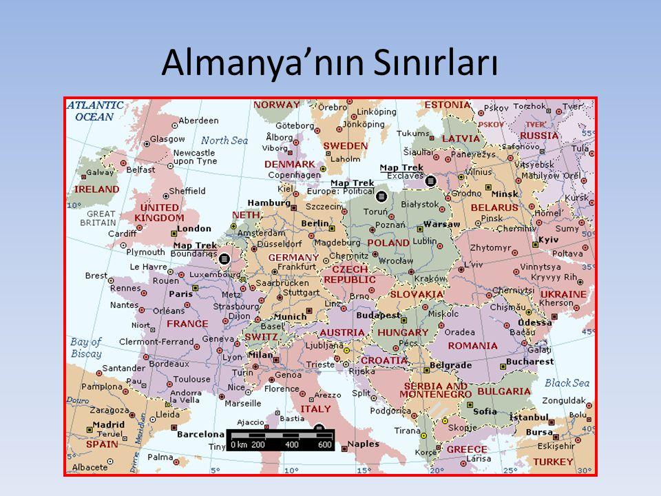 Almanya'nın Sınırları