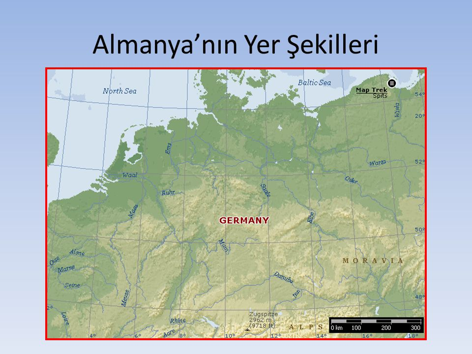 Almanya'nın Yer Şekilleri