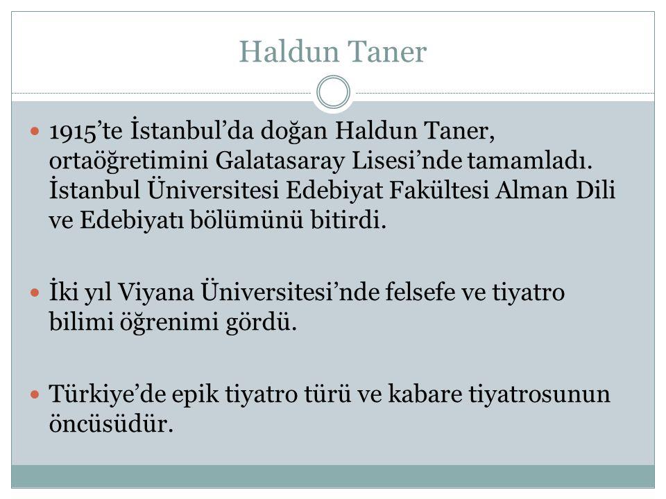 Haldun Taner
