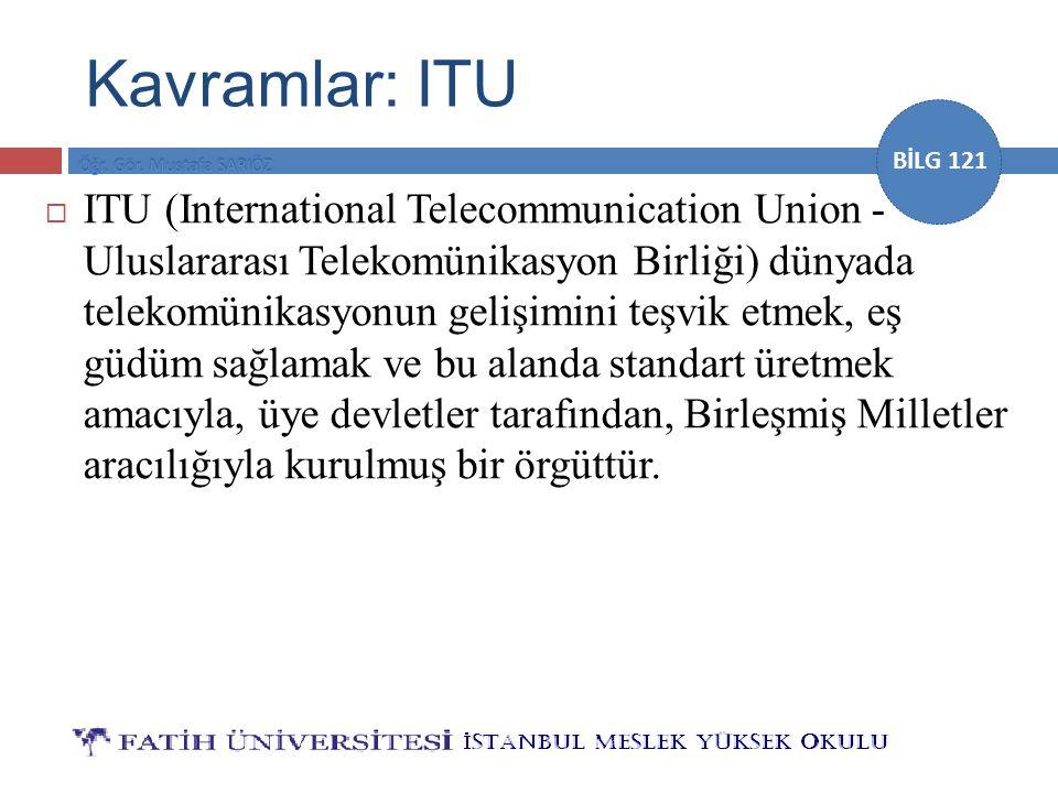 Kavramlar: ITU