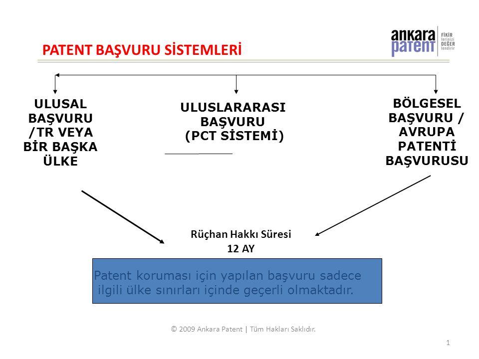 BÖLGESEL BAŞVURU / AVRUPA PATENTİ BAŞVURUSU