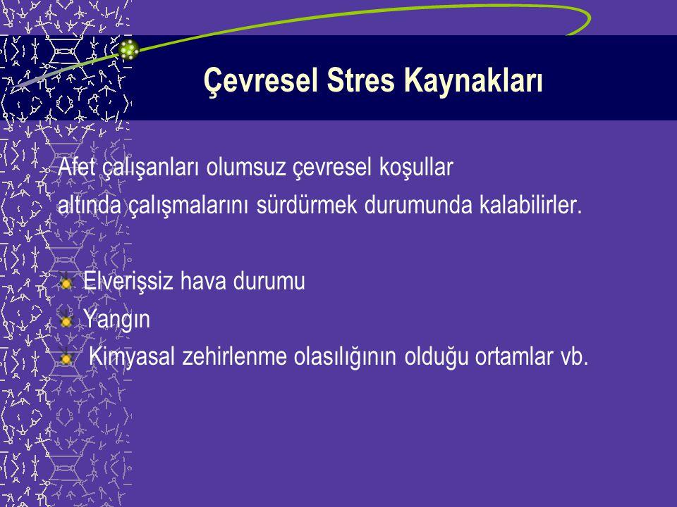 Çevresel Stres Kaynakları