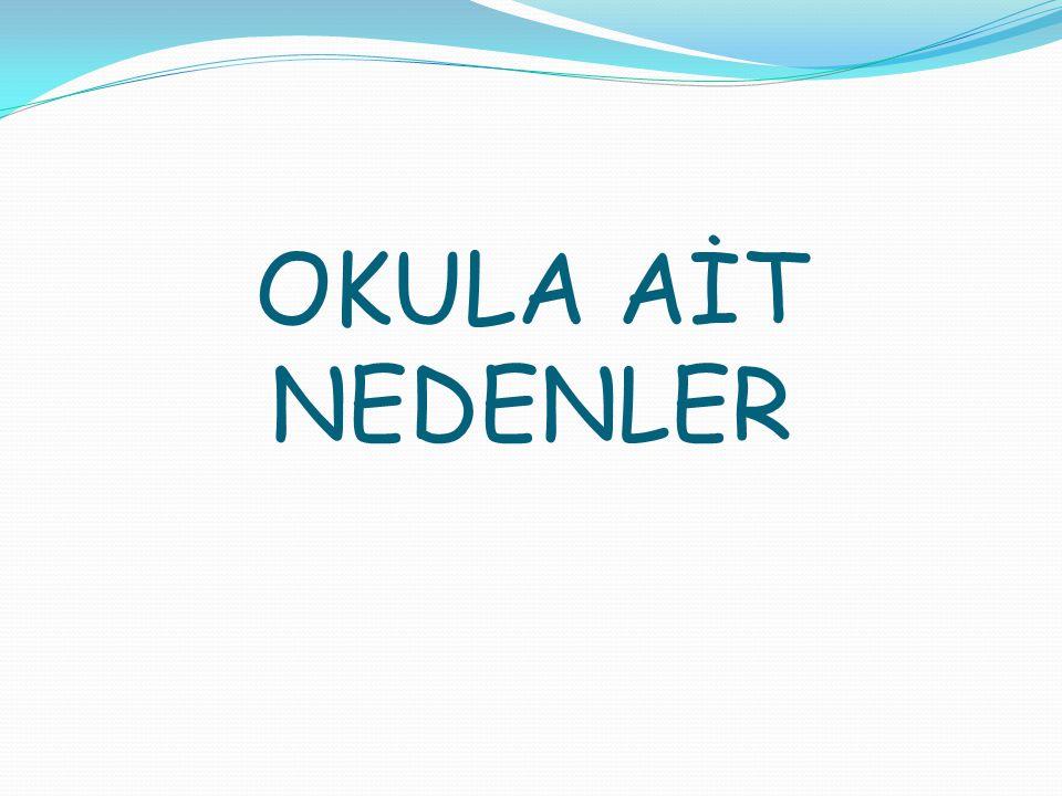 OKULA AİT NEDENLER