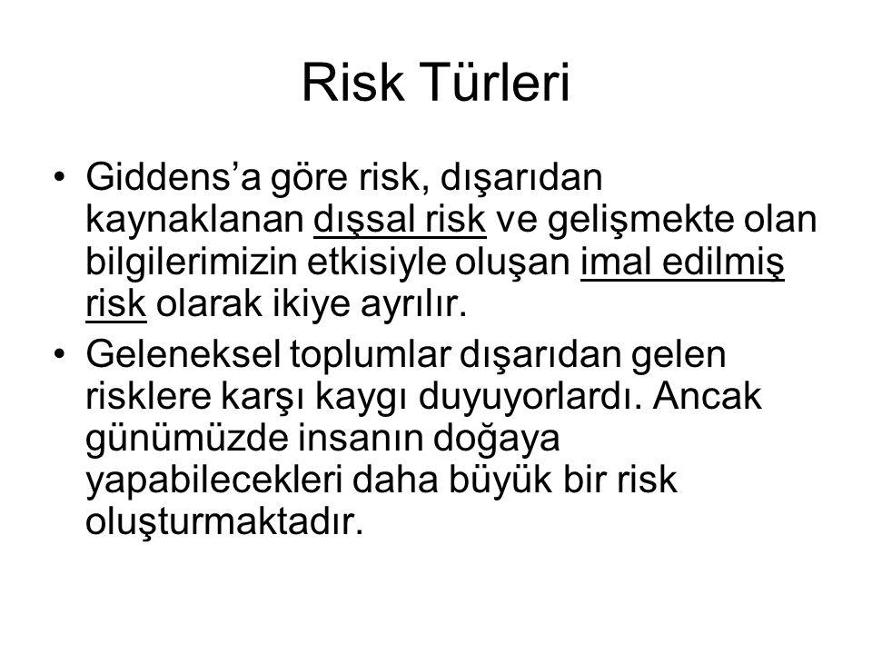 Risk Türleri