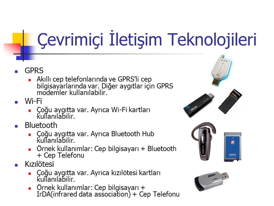 Çevrimiçi İletişim Teknolojileri