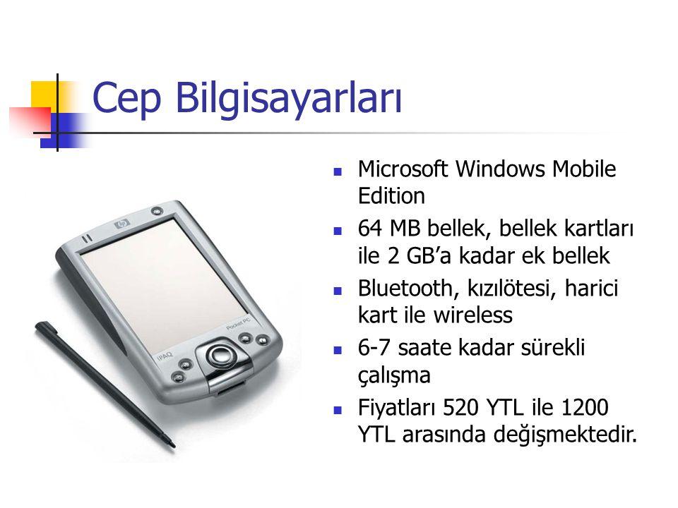 Cep Bilgisayarları Microsoft Windows Mobile Edition