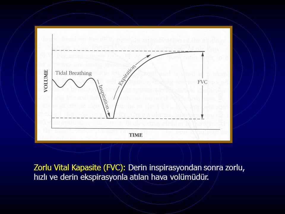 Zorlu Vital Kapasite (FVC): Derin inspirasyondan sonra zorlu,