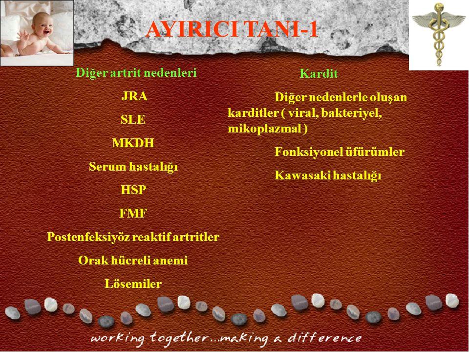 Postenfeksiyöz reaktif artritler