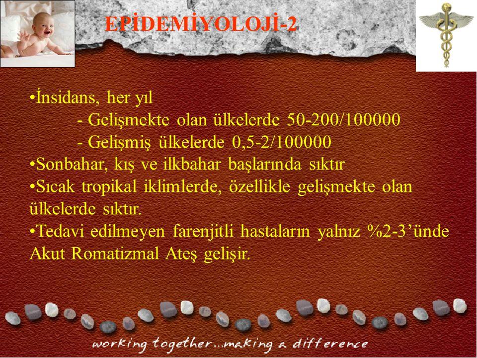 EPİDEMİYOLOJİ-2 İnsidans, her yıl