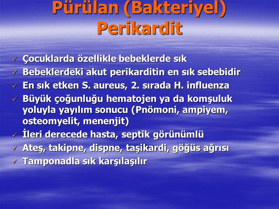 Pürülan (Bakteriyel) Perikardit