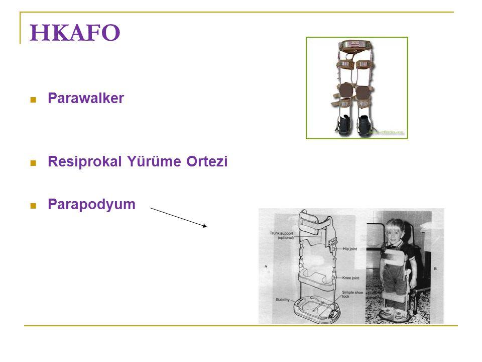 HKAFO Parawalker Resiprokal Yürüme Ortezi Parapodyum