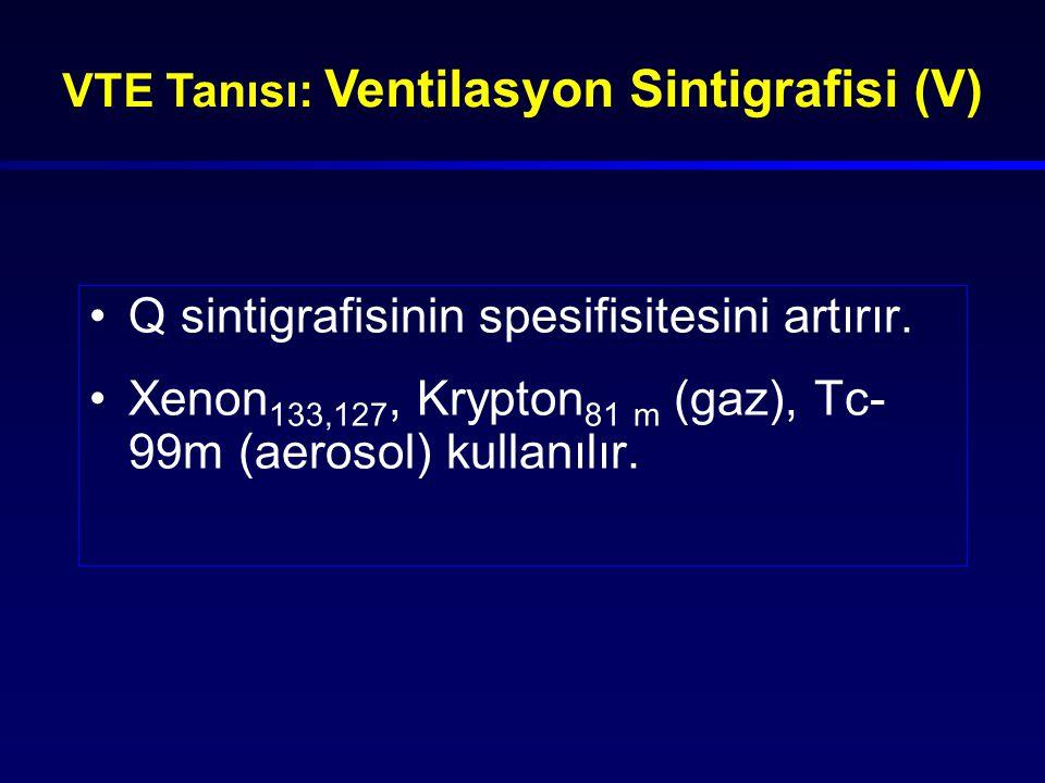 VTE Tanısı: Ventilasyon Sintigrafisi (V)