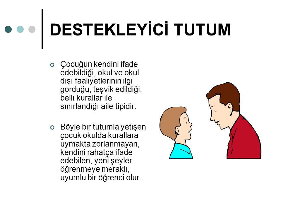 DESTEKLEYİCİ TUTUM
