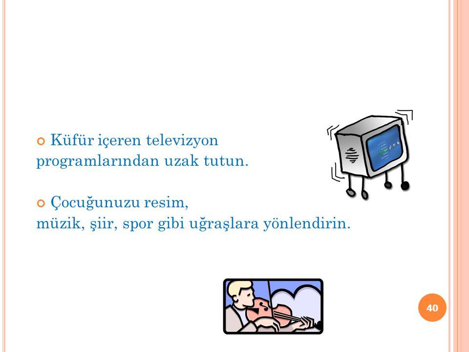 Küfür içeren televizyon