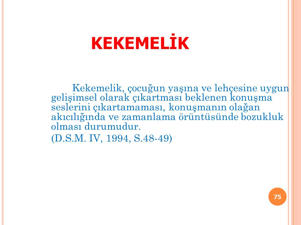 KEKEMELİK
