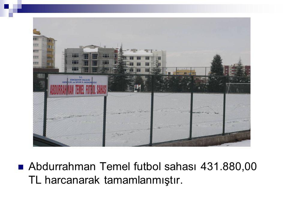 Abdurrahman Temel futbol sahası 431