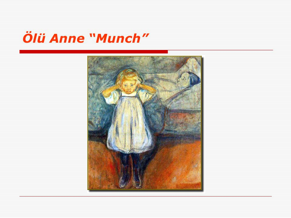 Ölü Anne Munch
