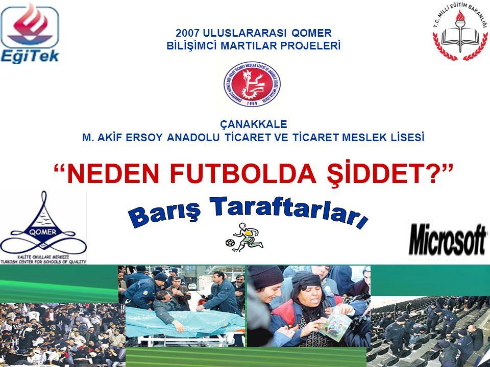 2007 ULUSLARARASI QOMER BİLİŞİMCİ MARTILAR PROJELERİ ÇANAKKALE M