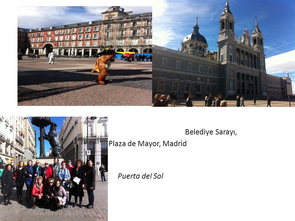 Belediye Sarayı, Plaza de Mayor, Madrid